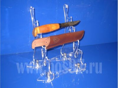 Подставка под нож и ножны (3 комплекта)