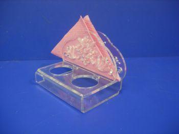 Подставка для набора специй с салфетницей